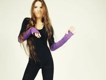 härlig dansare Arkivfoto