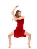 Härlig dansare Arkivbild