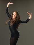 Härlig dansare royaltyfri bild
