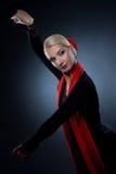 härlig dansareflamenco Royaltyfri Fotografi