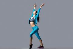 Härlig dansareflicka Fotografering för Bildbyråer