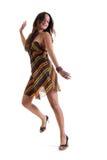 härlig dansflicka Royaltyfri Foto