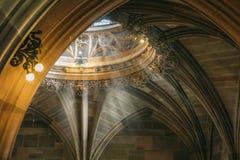 Härlig dekorativ beståndsdel i den gotiska stilen royaltyfri fotografi