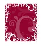 härlig dekorativ designram Royaltyfri Bild