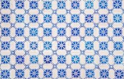 Härlig dekorativ traditionell modell för keramiska tegelplattor från Portugal arkivbilder