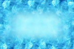Härlig designbakgrund med utrymme i mitten för text-, abstrakt begrepp-, blått- och vitfärger Royaltyfri Foto