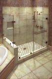 härlig dusch Royaltyfri Bild