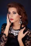 Härlig elegant Lady Arkivfoto