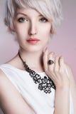 Härlig elegant Lady Royaltyfria Bilder