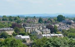 Härlig engelsk stad fotografering för bildbyråer