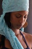 härlig ethiopian kvinnlig Royaltyfri Fotografi