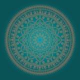 Härlig etnisk Mandala Arkivfoton