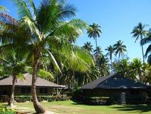 härlig exotisk fiji semesterort Royaltyfri Bild
