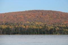 Härlig färghöst Tadoussac, Quebec Royaltyfria Foton