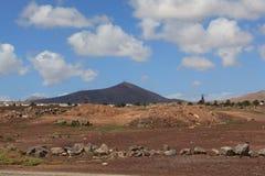 Härlig färgläggninglek på en av många volcanoes Arkivbilder