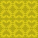 Härlig färgrik blom- prydnad seamless vektor för modell Royaltyfria Bilder