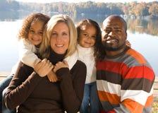 härlig familj Royaltyfria Bilder