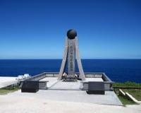 Härlig ferie på ön av Saipan Den härliga ön av Saipan Arkivbild
