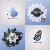 Fjäril. Beståndsdelar för design. Vektorillustration. Royaltyfri Foto