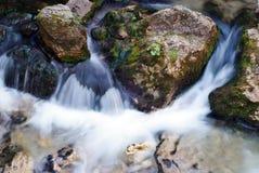 härlig flödande flod Arkivfoton