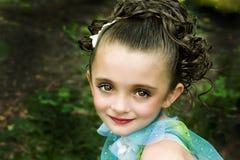 härlig flicka Royaltyfria Foton