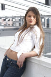 Härlig flicka Arkivfoton