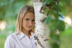 Härlig flicka Arkivfoto