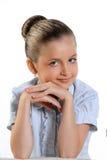 härlig flicka Arkivbild