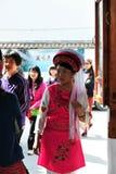 Härlig flicka, den etniska minoriteten Royaltyfri Foto
