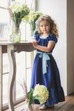 härlig flicka little royaltyfria bilder