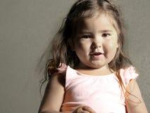 härlig flicka little Royaltyfria Foton