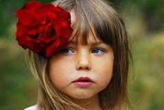 härlig flicka little Royaltyfri Foto