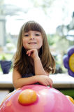 härlig flicka little Fotografering för Bildbyråer