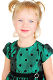 härlig flicka little stående arkivfoto