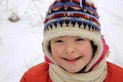 härlig flicka little stående royaltyfri fotografi