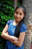 härlig flickalatinamerikan royaltyfria foton