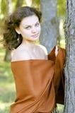 härlig flickastående Royaltyfri Foto