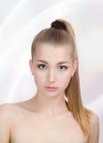 härlig flickastående Royaltyfria Bilder