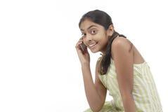 härlig flickastående Arkivfoton