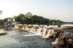 härlig flod Arkivfoton