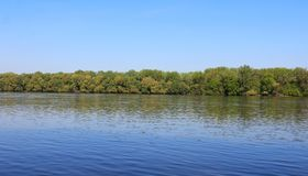 Härlig flodDonau Arkivbild