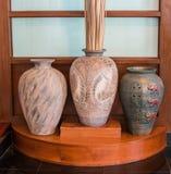 Härlig forntida vase Arkivbilder