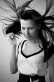 härlig fotokvinna Fotografering för Bildbyråer