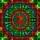 härlig fractalbild Royaltyfria Foton