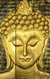 Härlig framsida av Buddha royaltyfria foton