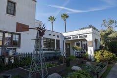 Härlig Fremont mittteater av södra Pasadena Arkivfoton