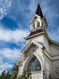Härlig gammal kyrklig arkitektur royaltyfri bild