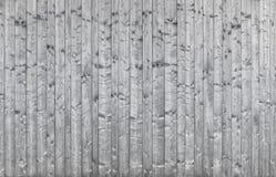 Härlig gammal silvrig trävägg - bakgrundstextur Royaltyfria Bilder