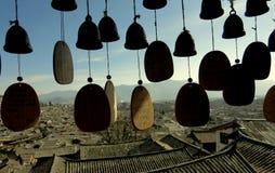 Härlig gammal stad av Lijiang, Yunnan Fotografering för Bildbyråer