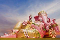 Härlig Ganesh staty Arkivbild